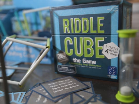 Riddle Cube created be Howard Fleischer of Ossining