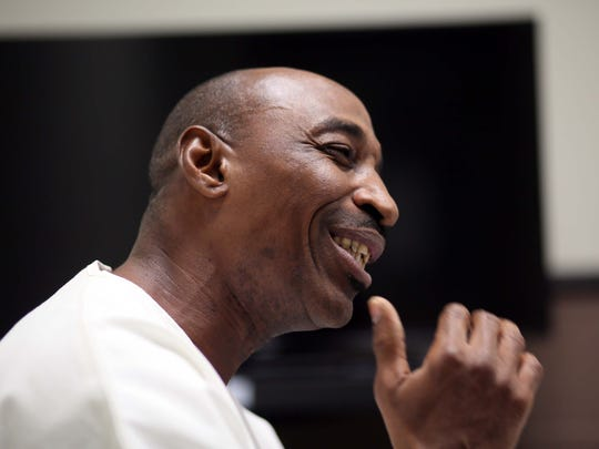 Kenneth Smith, 50, an inmate at the James T. Vaughn