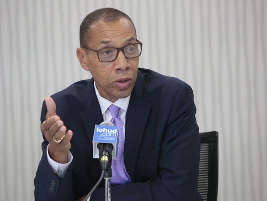 Dennis Walcott met with the Editorial Board shortly