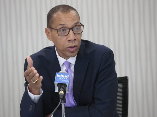 Dennis Walcott met with the Editorial Board shortly he was appointed as lead monitor of the East Ramapo school district.