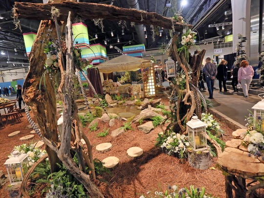 Explore America 100 Years of the National Park Service is this years theme at the Philadelphia Flower Show.