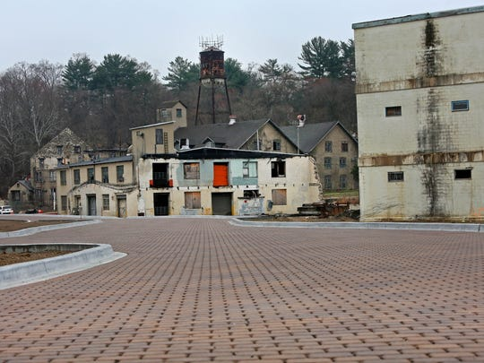 The site of the former NVF factory in Yorklyn is currently being cleaned up and redeveloped into a park and limited commercial space.
