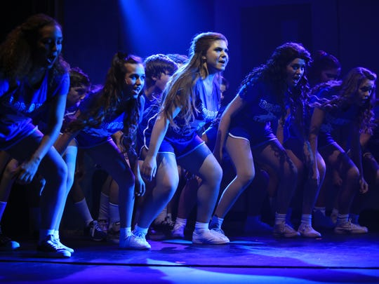"""Natalie Esposito, Michelle Holland and McKenna Tedrick are among the performers in """"Footloose."""""""
