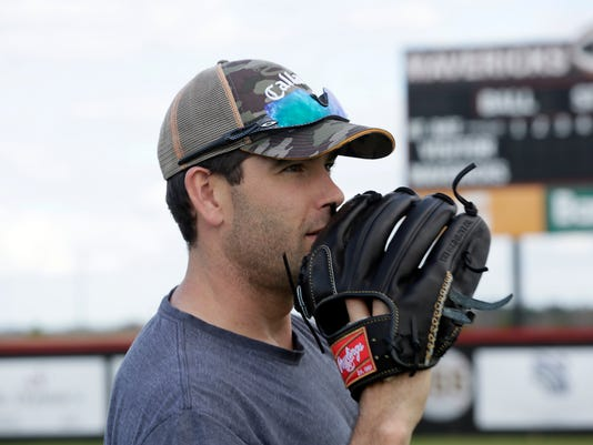 TCL Seth Smith Baseball Practice at Germantown High School