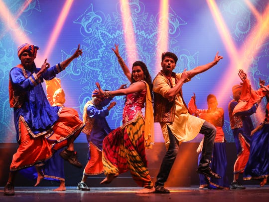 """A scene from """"Taj Express:The Bollywood Musical."""""""