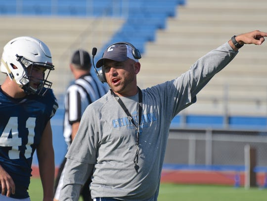 Coach Matt Kriesky is 13-5 in a year and a half at