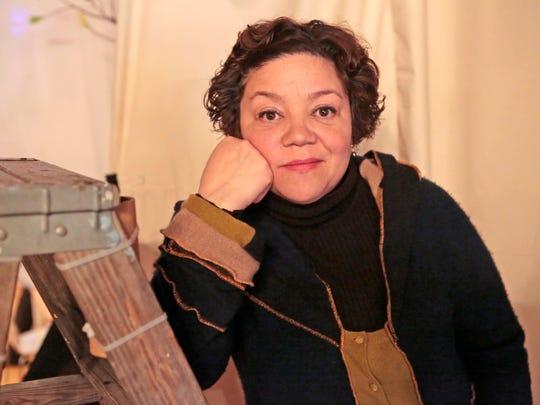 Actress Sol Miranda in Peekskill.