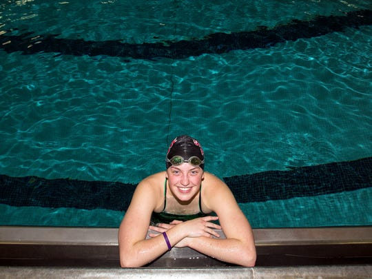 SPASH senior swimmer Julia Stupar placed seventh in the 200-yard freestyle and eighth in the 100 freestyle at the Division 1 state meet as a junior.