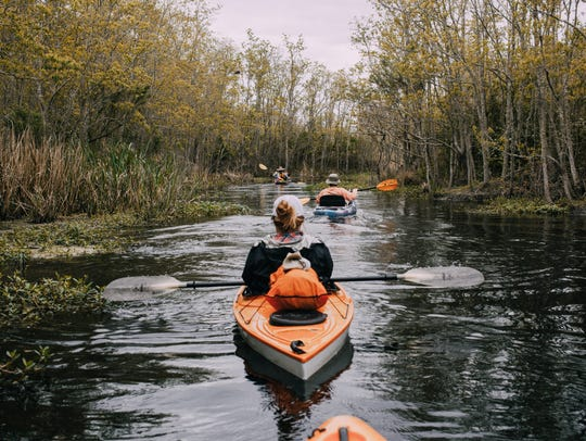 The Vermilion Voyage is a three-day guided paddle down the Bayou Vermilion March 22-25.