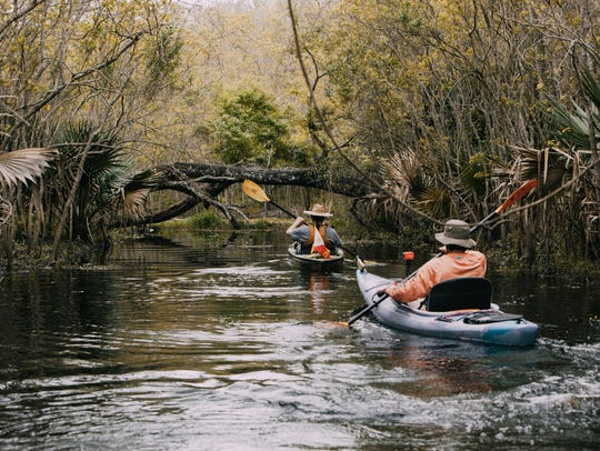 The Vermilion Voyage is a three-day guided paddle down