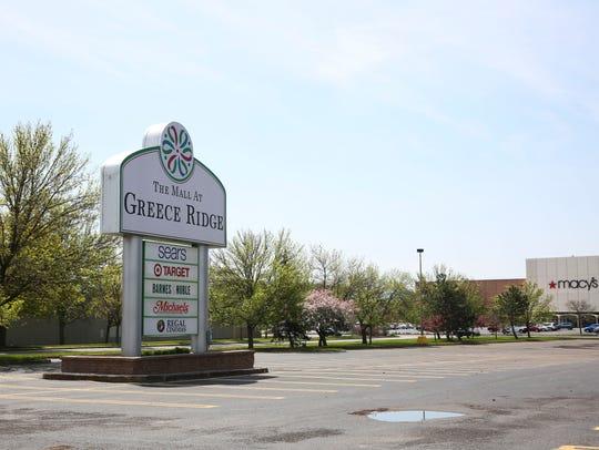 The Mall at Greece Ridge at West Ridge Road.