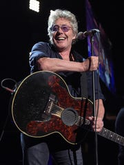 Roger Daltrey, of The Who, performs in concert at Madison Square Garden, on March 3, 2016, in New York.