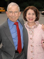 Donald Newhouse and his wife, Susan Newhouse. Donald Newhouse is the richest New Jersey resident, according to the Forbes magazine ranking of billionaires.