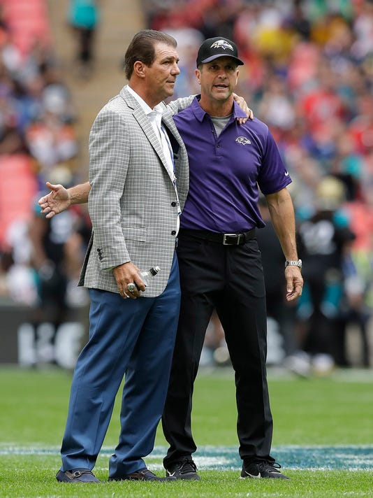 Stephen Bisciotti, John Harbaugh