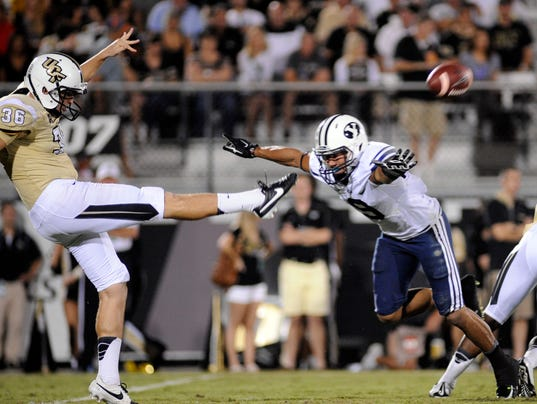NCAA Football: Brigham Young at Central Florida