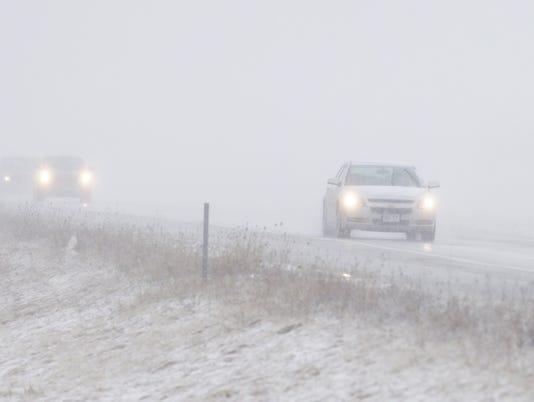 Sheboygan County spring snowstorm