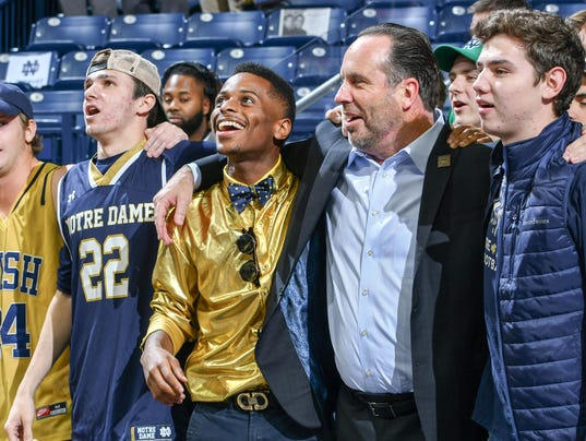 NCAA Basketball: Mount St. Mary's at Notre Dame