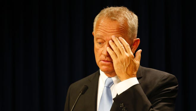 Hamilton County Prosecutor Joe Deters announces Tuesday there will not be a third trial for Ray Tensing, the former UC police officer that killed Sam DuBose.