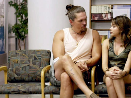 """Following one brother's suicide and her father's stroke Johana (Sarah Hyland) gets some surprisingly sound advice from another brother's pothead boyfriend (Steve Howey) in """"See You in Valhalla."""""""