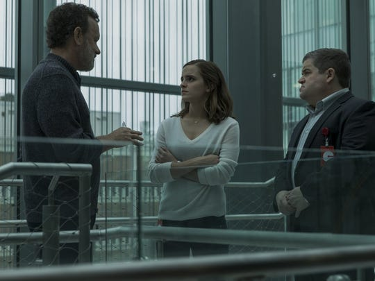 "Tom Hanks, Emma Watson and Patton Oswalt start in ""The Circle."""