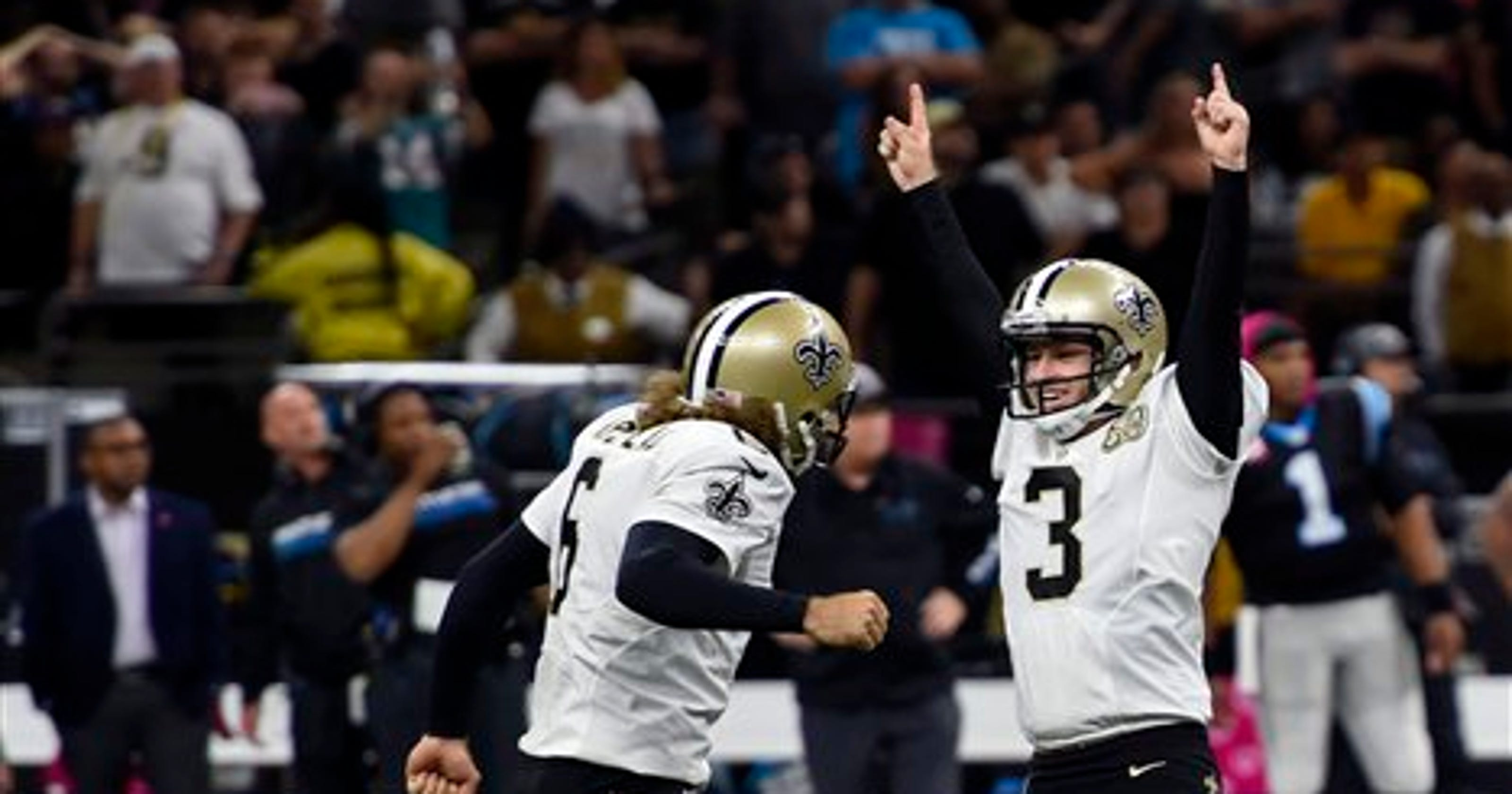 Saints make Wil Lutz highest-paid kicker in NFL history 1d272e7b2