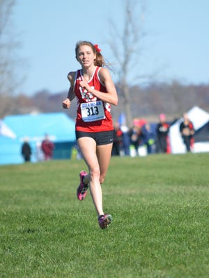West Lafayette's Lauren Johnson was named Class 3A Runner of the Year.