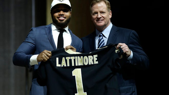 Will the Buffalo Bills regret not grabbing Ohio State's Marshon Lattimore? Only time if the move to trade down in the first round paid off.