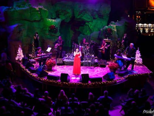 A seven-piece band joins singer Michelle Berting Brett