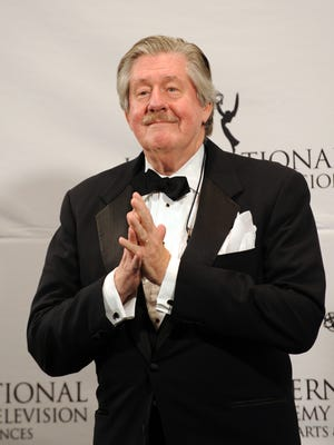Edward Herrmann on stage at the 39th International Emmy Awards on Nov. 21, 2011, in New York.