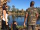 Kim Kardashian West visits the Phoenix Zoo with her