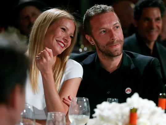 AP People Gwyneth Paltrow Chris Martin