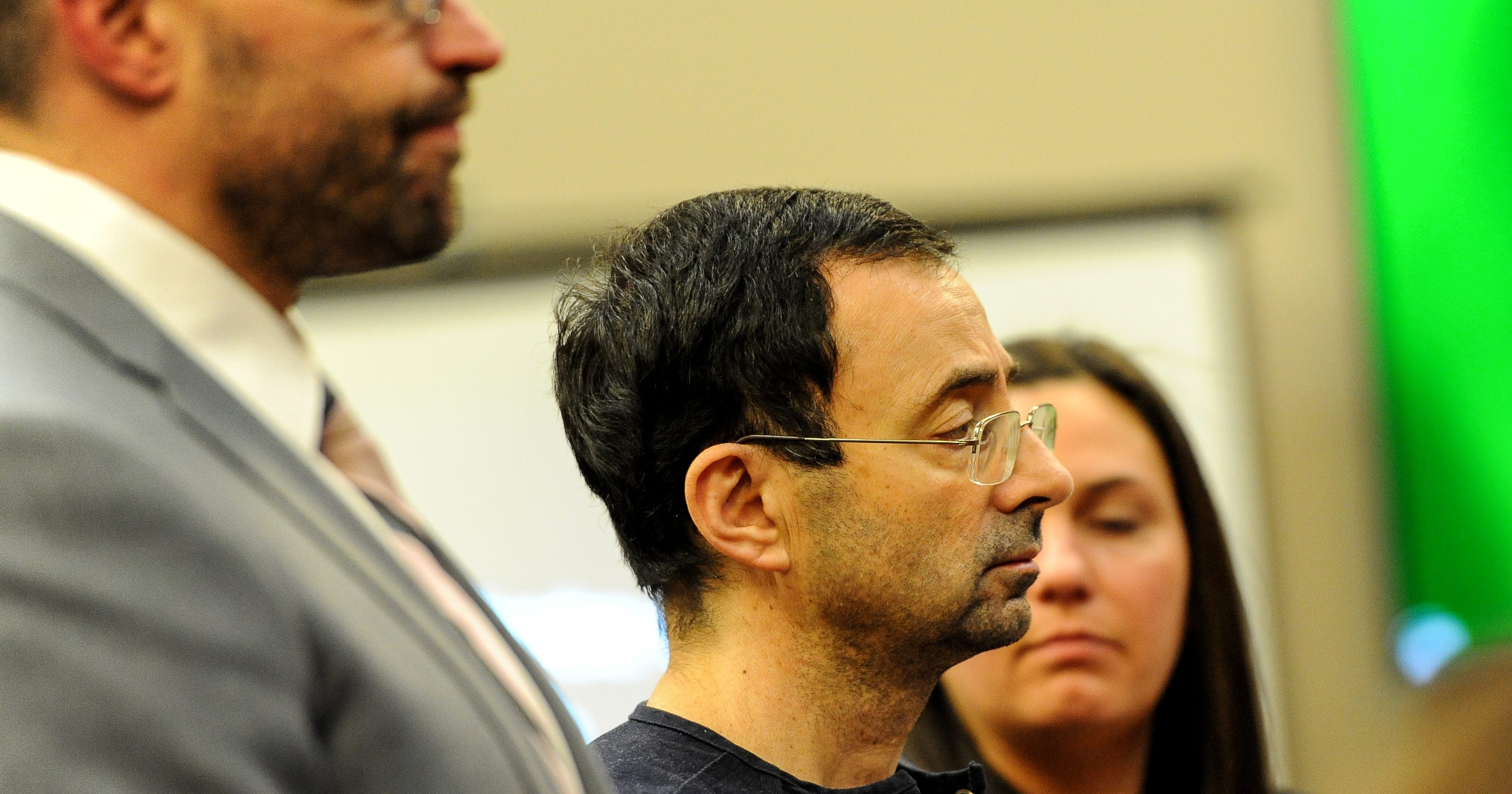 Larry Nassar sentenced to 40 to 175 years on sex assault charges