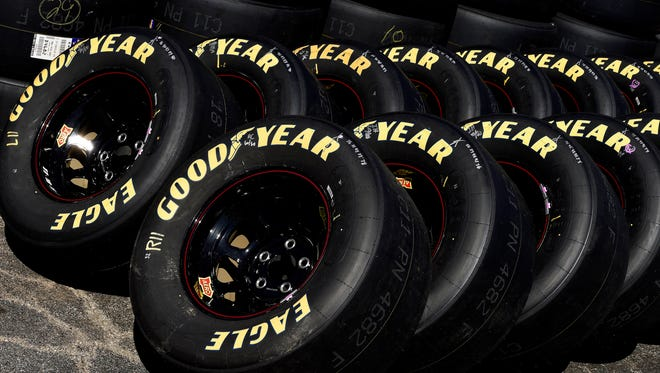 Goodyear says the new lower downforce package gives them more flexibility to work with a softer tire compound.