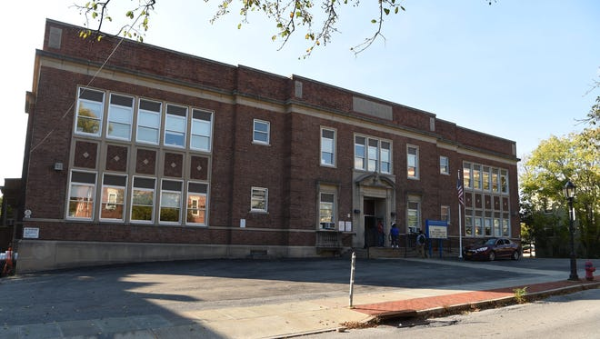 Columbus Elementary School on South Perry Street in the City of Poughkeepsie, which now houses the PACE academy.