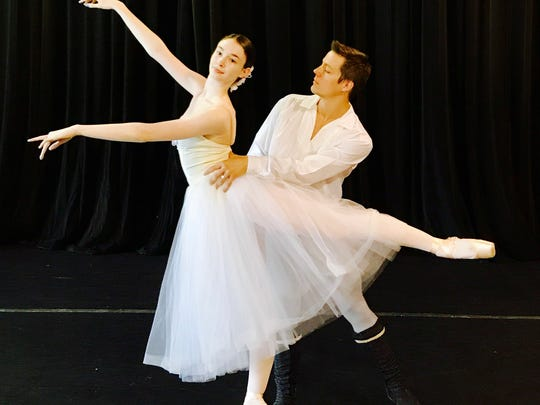 """Dancers from Giselle Act II, which will be performed as part of """"Stars on the Riverfront"""" at the Riverwalk Amphitheater in Montgomery on Sunday and Monday."""