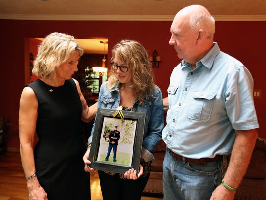 Marine Sgt. Owen Lennon is remembered by his parents,