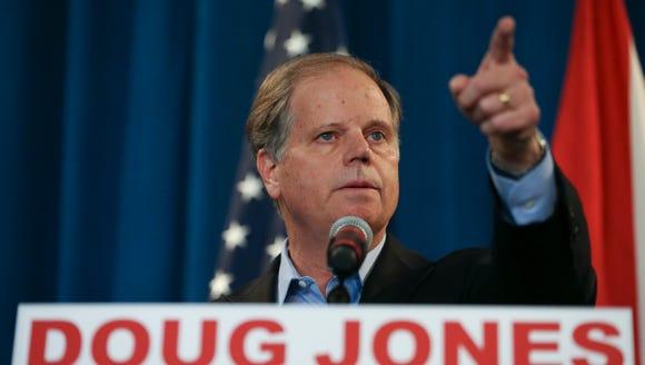 Alabama Senator-elect Doug Jones