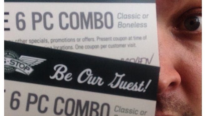 """Comment on this post, and either """"Like"""" Argus Leader Media on Facebook or follow me (@sigepcory) on Twitter for a chance to win two tickets to the Wingstop preview lunch."""