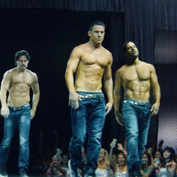 """Channing Tatum in a scene from the film, """"Magic Mike XXL."""""""