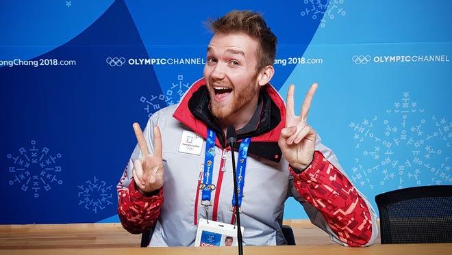 """Adam Kiefer, the """"Singing Soundchecker,"""" 23rd Winter Olympics, South Korea"""