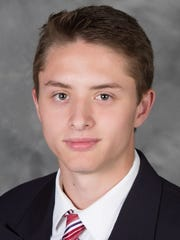 Goalie Drew DeRidder, now playing for the U.S. NTDP Under-18 team, is slated to join Michigan State University's men's hockey team next season.