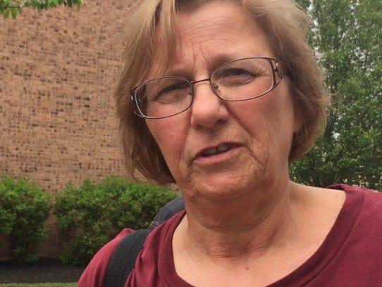 Patty Gergel of Bordentown, a stage 4 cancer survivor,