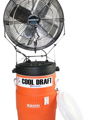 Cool Draft misting mid pressure and high pressure misting fans' wiring is not properly grounded, posing electric shock and fire hazards.