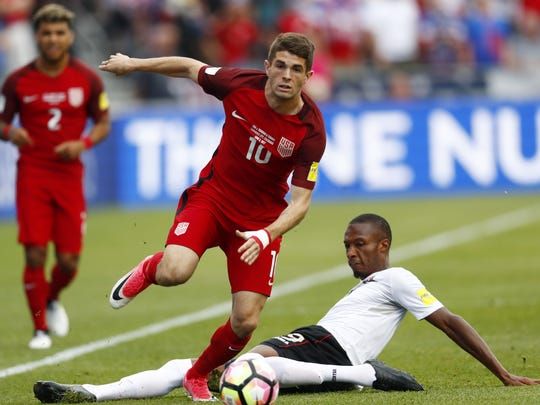 Hershey native and US soccer star Christian Pulisic
