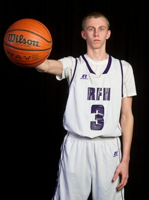 All-Shore Boys Basketball Player of the Year Brendan Barry of Rumson-Fair Haven.