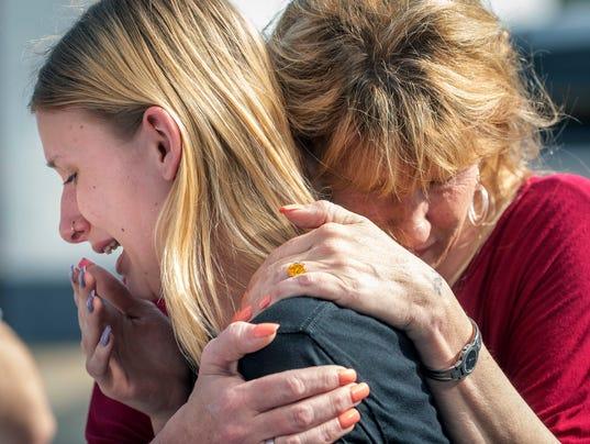 AP APTOPIX SCHOOL SHOOTING TEXAS A USA TX