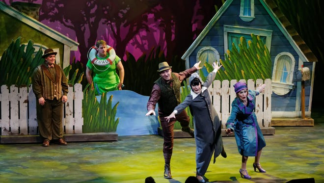 """""""A Year With Frog and Toad"""" will be staged Tuesday, Feb. 28, at the Clemens Center in Elmira."""