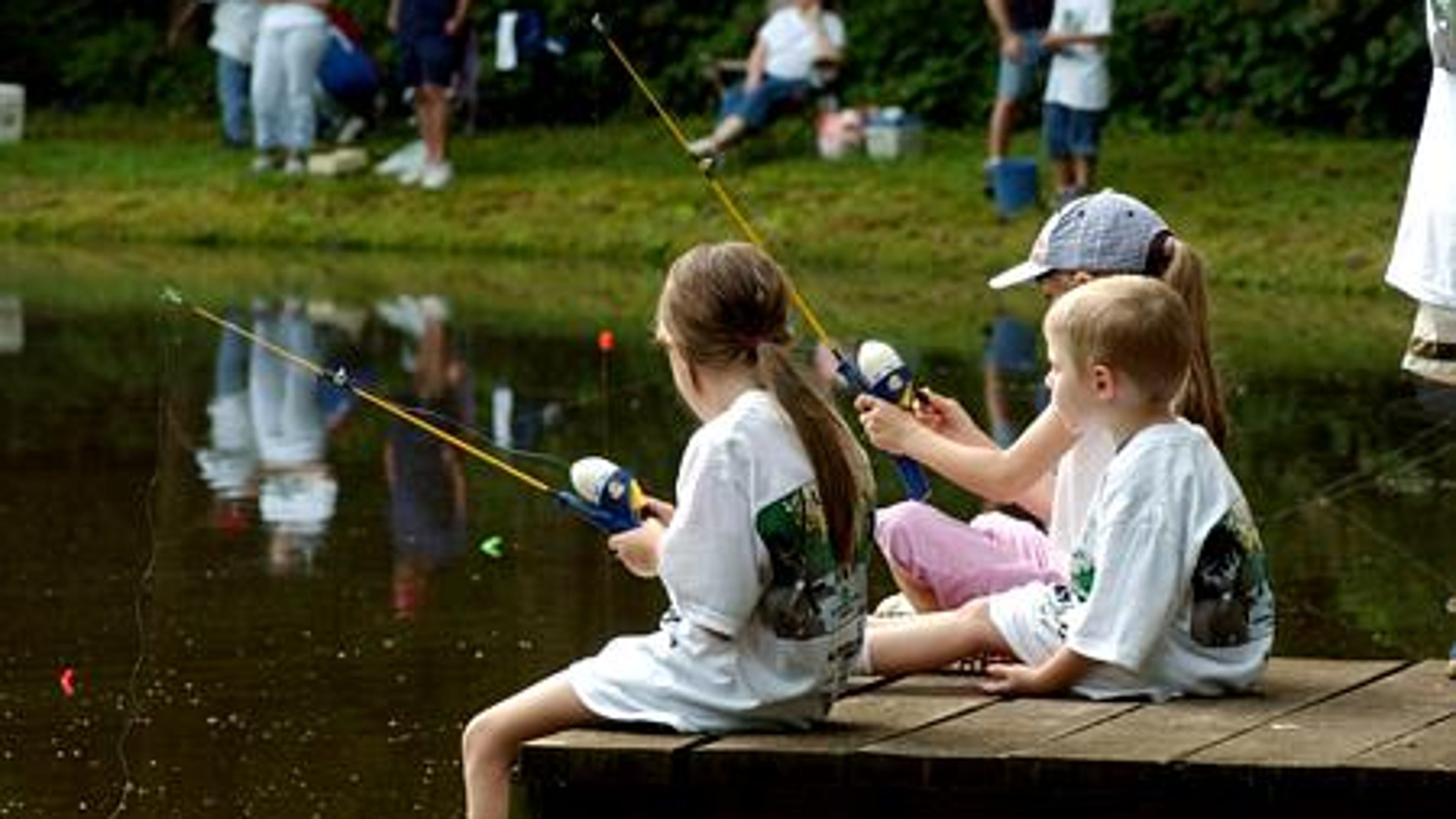 Free Fishing Rodeo for kids this Saturday