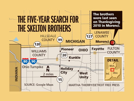 The five-year search for the Skelton brothers