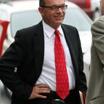 Tim Blixseth arrives at the federal courthouse in Missoula in 2009.